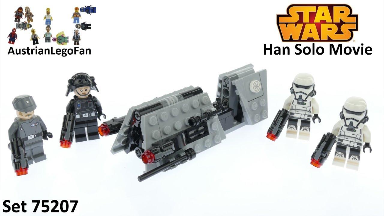 NEW 1 LEGO STAR WARS Minifigure IMPERIAL PATROL STORMTROOPER w blaster 75207