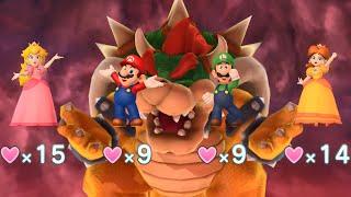 Mario Party 10 - Peach, Mario, Luigi, Daisy vs Bowser - Chaos Castle