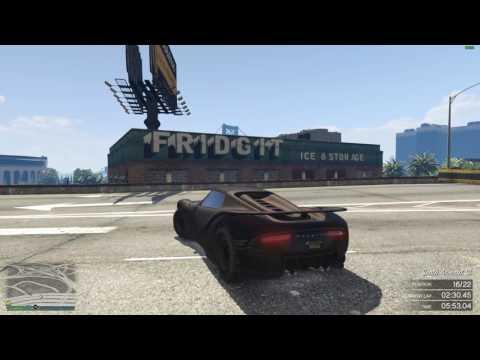 GTA V Online Race #279 Skyline Raceway
