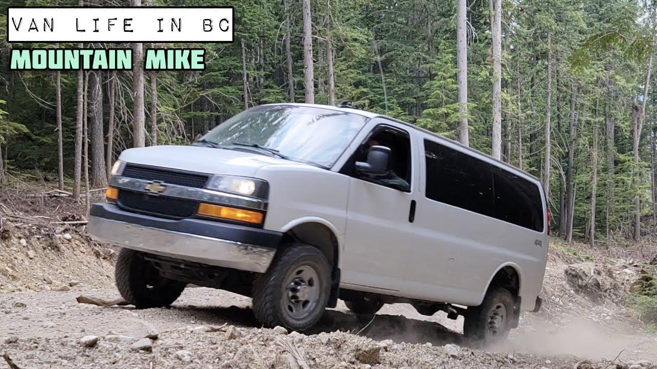 Van Life in BC - Mountain Man Mike