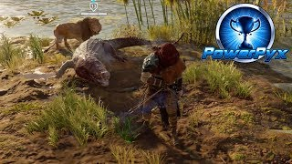 Assassin's Creed Origins - Set-up Date & Roooaaarrrrr! Trophy / Achievement Guide