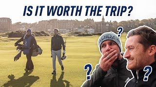 The Old Course, St Andrews - What I REALLY thought! w/ Peter Finch (Home of Golf)