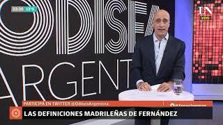 Carlos Pagni: Las definiciones madrileñas de Alberto Fernández - Editorial - Odisea Argentina