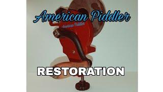 Hand Crank Grinder Restoration