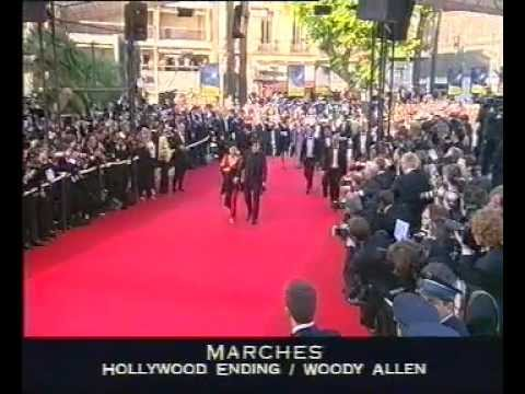 Filmfestival Cannes Jury 2002 Red Carpet. With Sharon Stone, David Lynch & Christine Hakim