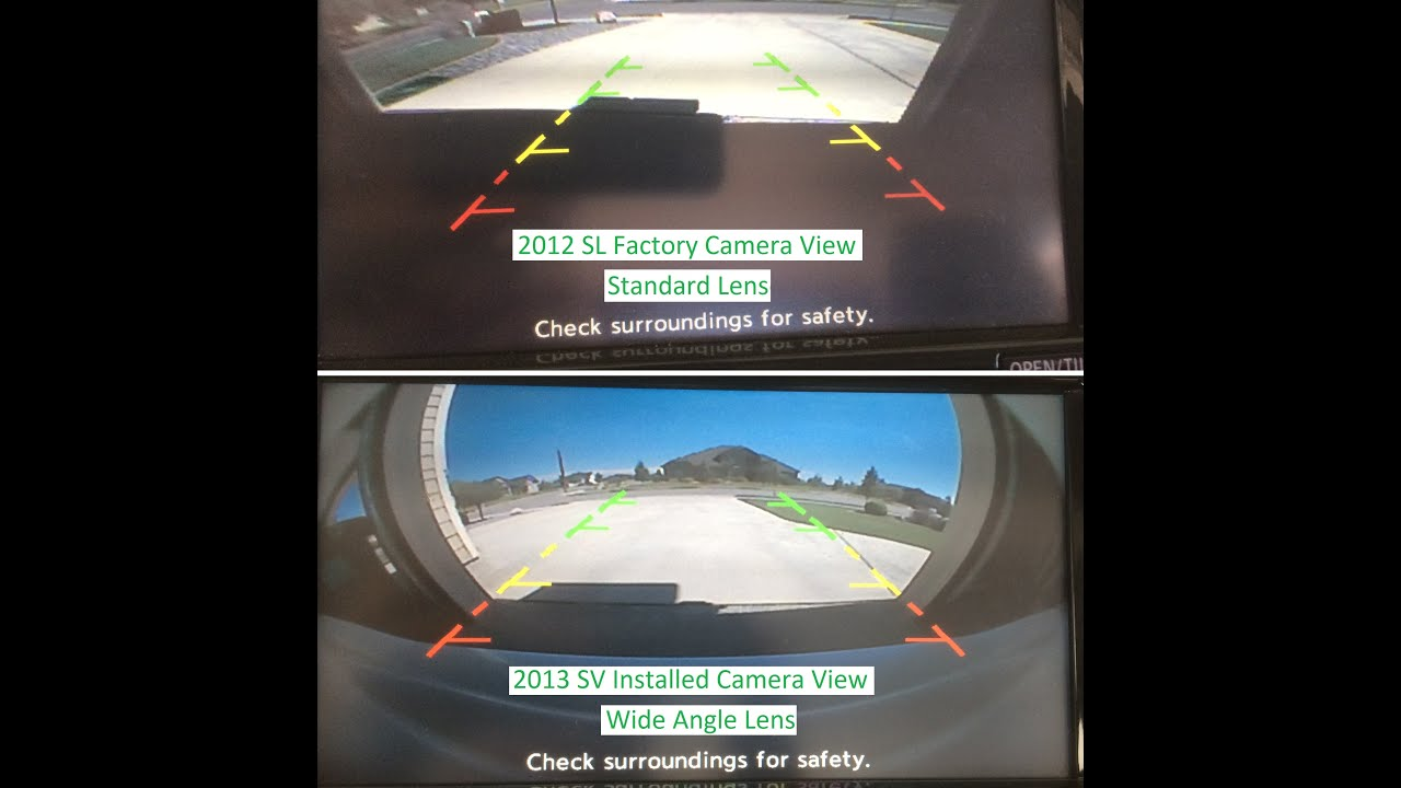 how to install a backup camera in a 2013 sv nissan leaf youtube rh youtube com 2010 Buick Lacrosse Backup Camera Camera Backup Camera Wireless Connection