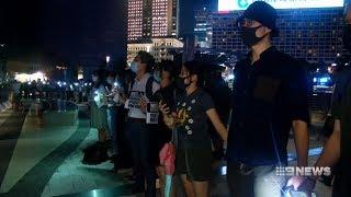 Hong Kong Protest | 9 News Perth