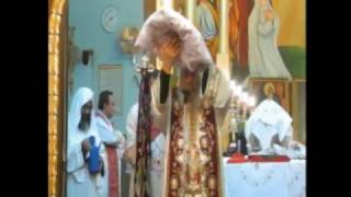 قداس سيامة الآباء الكهنة بيد نيافة الانبا شاروبيم ونيافةالانبابيمن12-3-2017