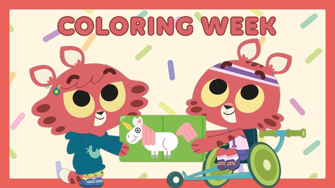 Download 🌈 COLORING WEEK 🌈 Learn and Play with Paprika Twins | Collection for Kids
