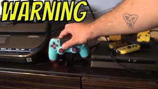 How to charge PS4 Controller without burning out the Battery
