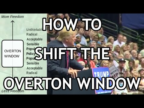 How to Shift the Overton Window