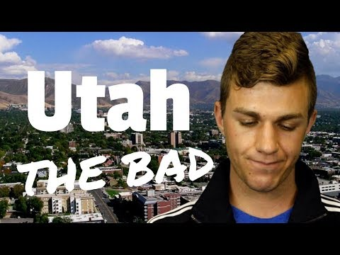 20 reasons NOT to move to Utah