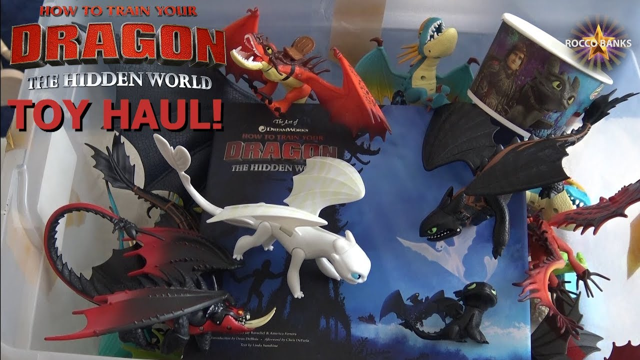 My Dragon Toy Collection - How To Train Your Dragon Toys #1