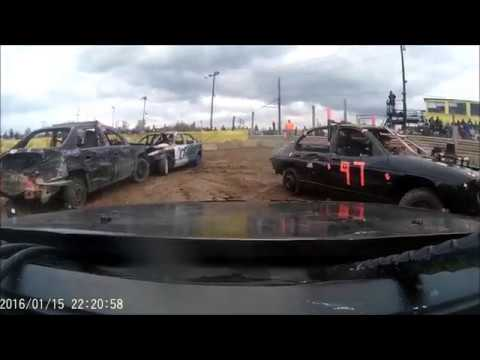"""Paradise Speedway Fall clean up """"Youth"""" in car Demolition Derby (10/13/18)"""