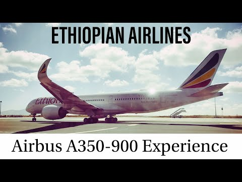 Ethiopian Airlines Economy Class Review | Airbus A350-900 | LHR-ADD | ET701