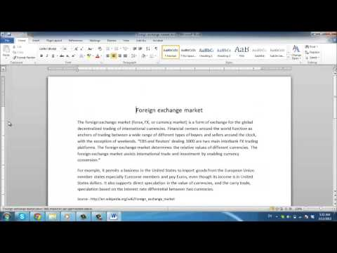 How to Block Quotes in Word