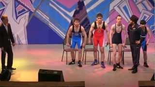 Сборная СНГ по вольной борьбе - приветствие (20.05.2012)