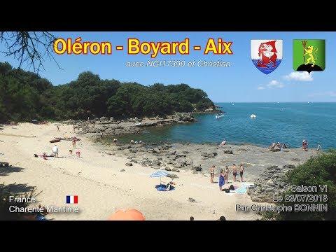 Curiosity : Oléron - Fort Boyard - Aix (23/07/2018)