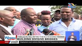 BBI in Kakamega: OCPD dares politicians to set foot in Mumias for parallel rally