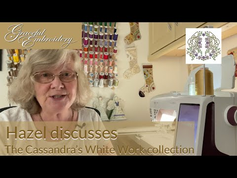 Discussing the Cassandra's White Work collection
