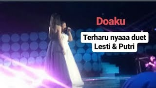 Download Lagu Lesti ft Putri - Doaku ( MERINDING) mp3