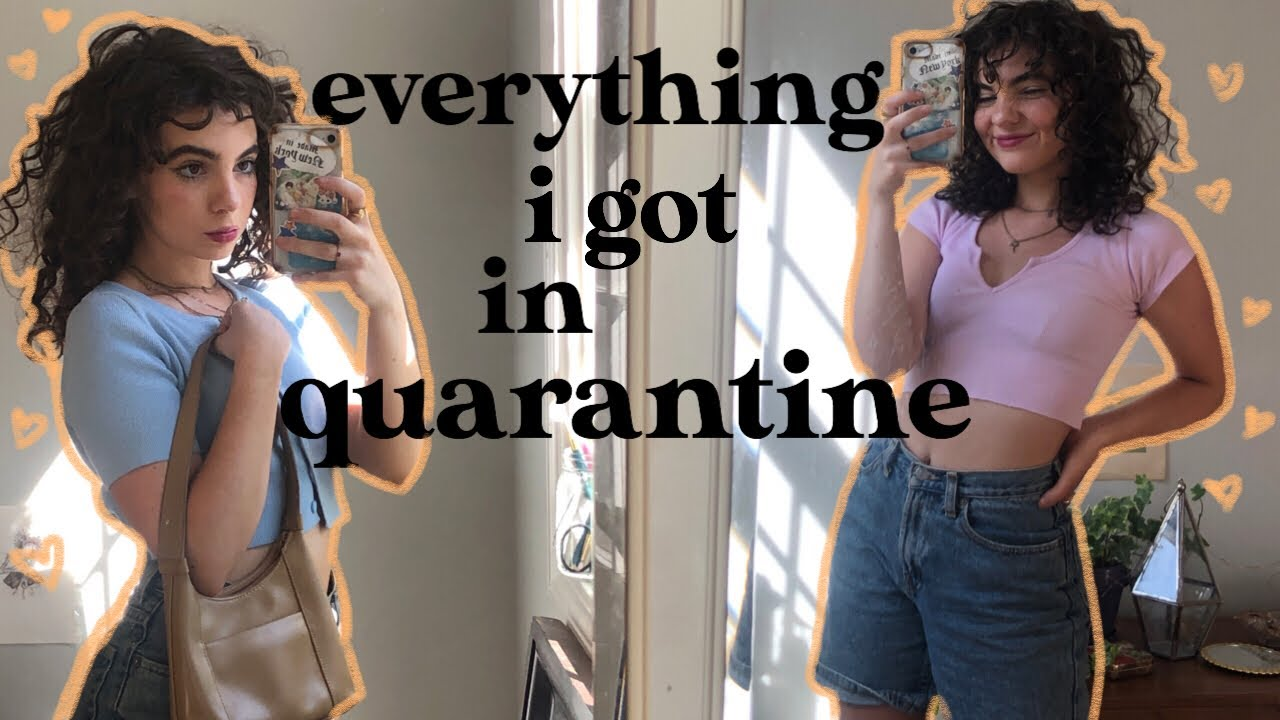 everything i bought during quarantine: REVAMPING MY CLOSET try on HAUL (my wallet is crying)