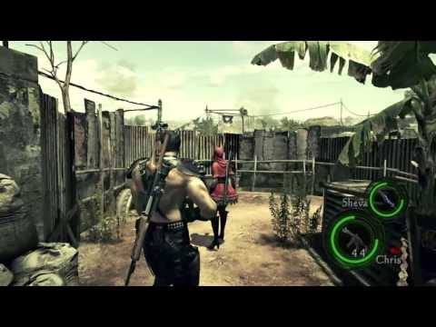 Professional (Chapters 1-3) Online Co-op - Resident Evil 5 (PS4)