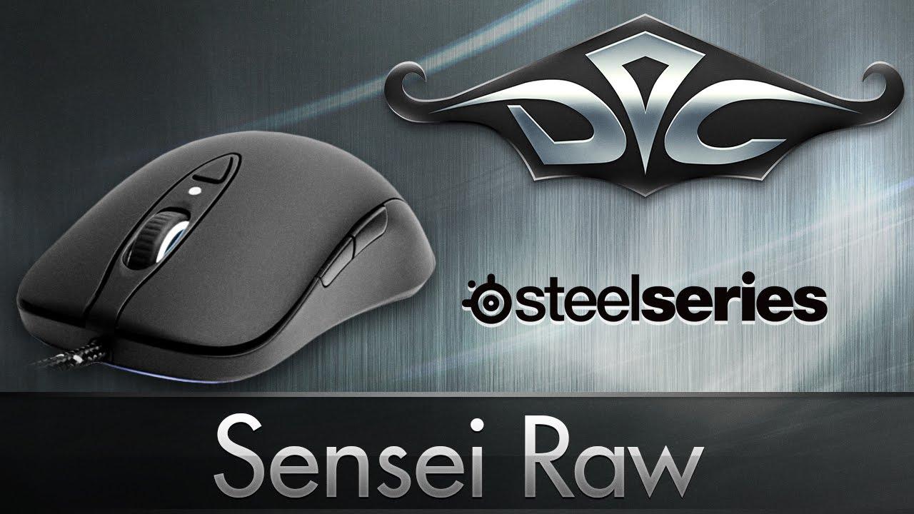 Обзор мыши SteelSeries Sensei Wireless - YouTube