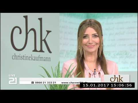 Christine Kaufmann bei Channel21 am 15.01.2017 - Teil 5