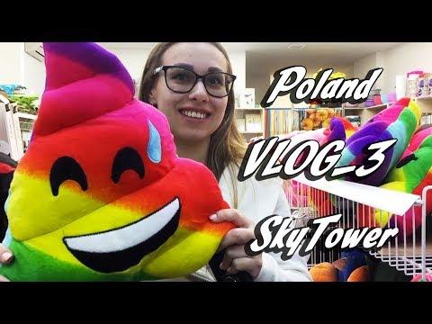 Польша, Вроцлав VLOG 3, SkyTower, вкусный кофе, уличная еда,опять гномы