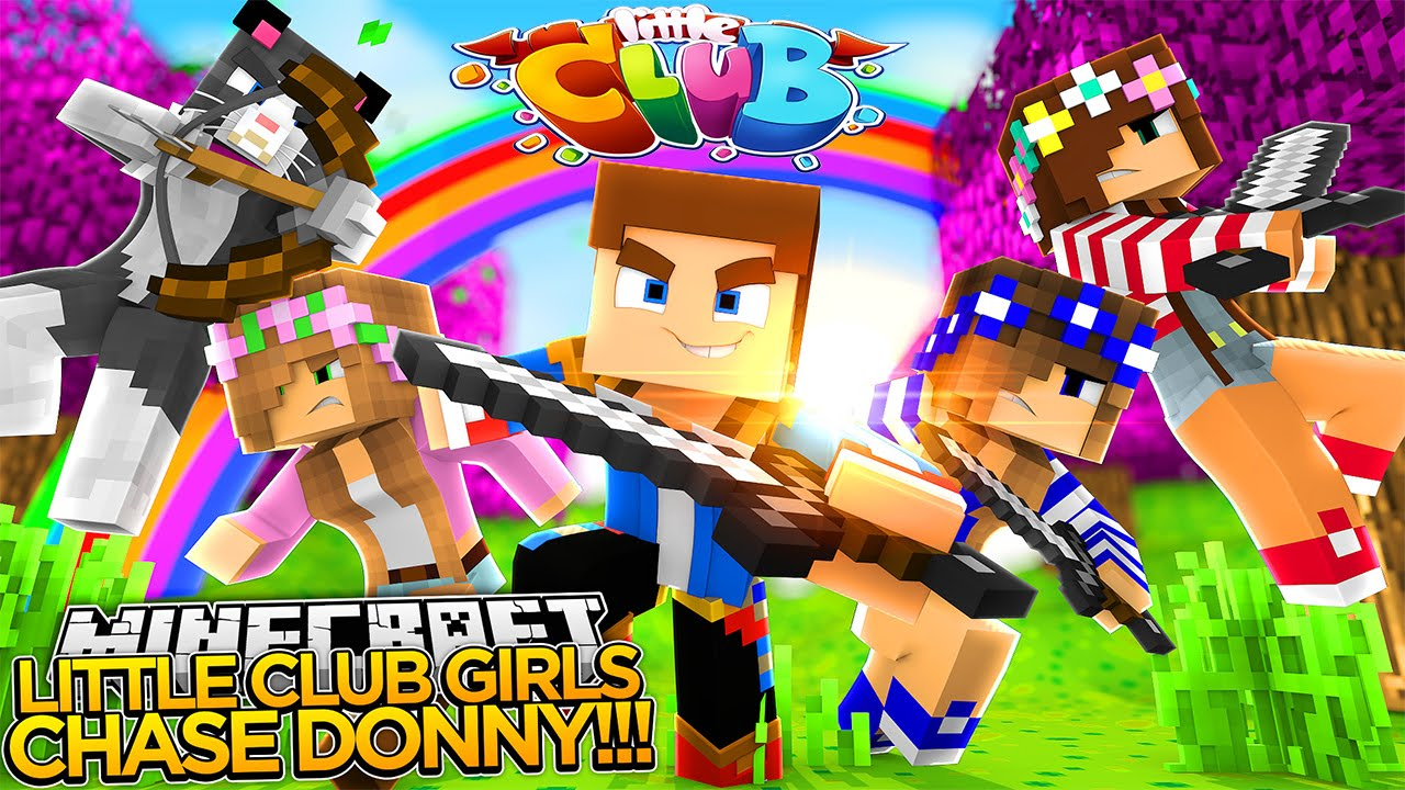 Minecraft little club girls chase little donny youtube - The little club ...