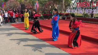 Trình diễn trang phục dân tộc Tày QUÁ ĐẸP - Lễ hội hoa đào Xứ Lạng 2019 I Vùng Cao Biên Giới