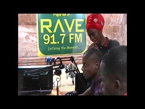 RAVE FM - News at six with Stella Bolarinwa on  Oct. 15, 2017