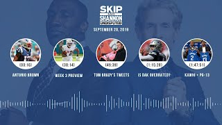 UNDISPUTED Audio Podcast (9.20.19) with Skip Bayless, Shannon Sharpe & Jenny Taft   UNDISPUTED