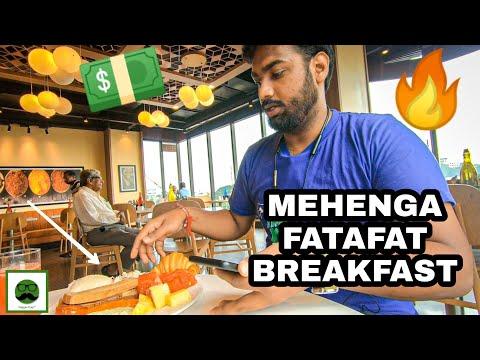 EXPENSIVE Breakfast At Holiday Inn With Veggiepaaji