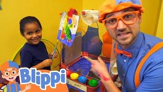 Blippi Visits Whiz Kids Playland + More Blippi Videos | Educational Videos For Kids