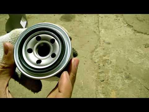 Как снять масляный фильтр на хендай солярис