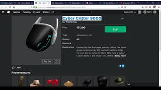 Neue Cyber Critter 9000 Und die letzte Blüte des Sommers   Roblox