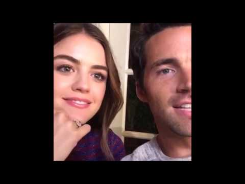 Lucy Hale and Ian Harding Live Stream 8/9/16