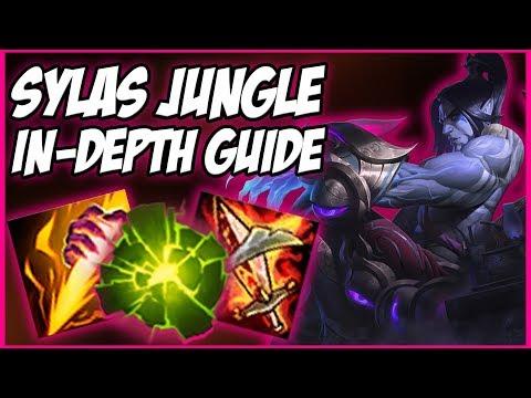 Sylas jungle clear path