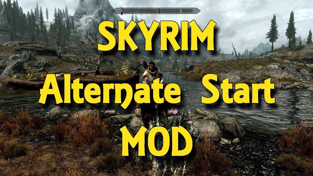 Skyrim Alternate Starting Locations Mod - 9GAG
