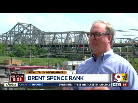 Where does the Brent Spence Bridge rank among Kentucky's road improvement needs?