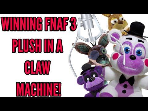 WINNING FNAF 3 PLUSH FROM A CLAW MACHINE!•Pandog76