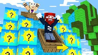 Minecraft Wasserrutsche aus Sommer Blöcken!