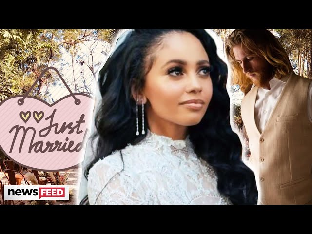 \'Riverdale\'s\' Vanessa Morgan REVEALS Footage From Her Wedding Day!