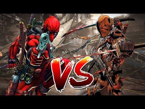 Deadpool VS Deathstroke   Who Wins?