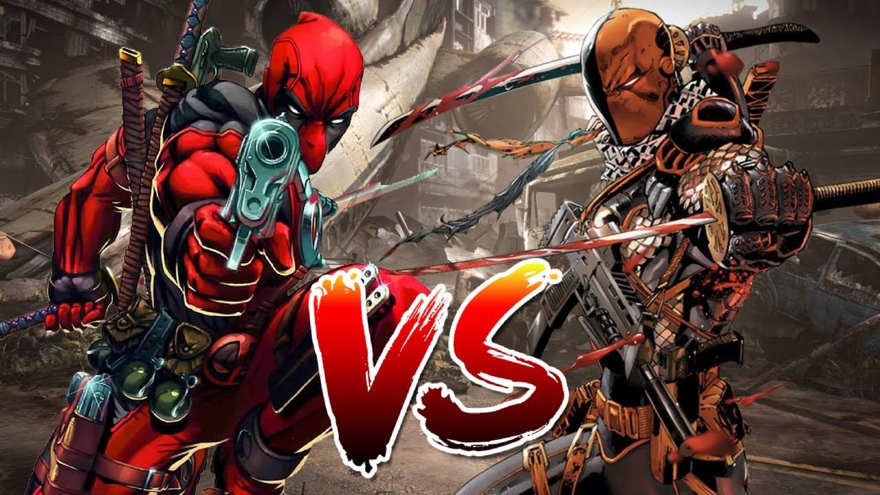 Download Deadpool VS Deathstroke   Who Wins?