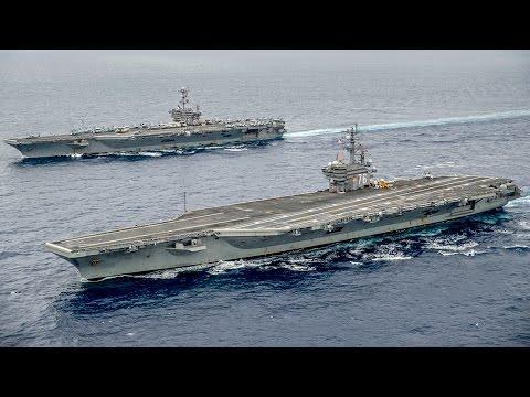 空母ジョージ・ワシントンとロナルド・レーガンの船体交換 - Aircraft Carrier George Washington & Ronald Reagan Hull Swap
