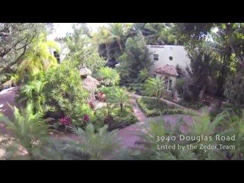 Coconut Grove Real Estate - 3940 Douglas Road