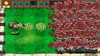 99999 Football Zombie vs Gatling Snow Pea Epic Hack PvZ